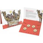 2020 $1 Eurkea! Australia's Gold Rush 4 Coin Set 1 C Mintmark Plus 3 Privy Marks, B, S & M