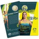 2020 $1 Australian Olympic Team - Ambassador Taliqua Clancy Coloured Coin/Card Uncirculated