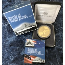 2002 $5 80th Anniversary of the Battle of Sunda Strait Proof