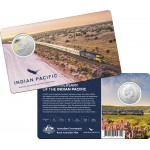 2020 50c 50th Anniversary of the Indian Pacific Coin/Card Uncirculated