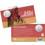 2020 50¢ 160 years Afgan Cameleers Coin/Card Uncirculated