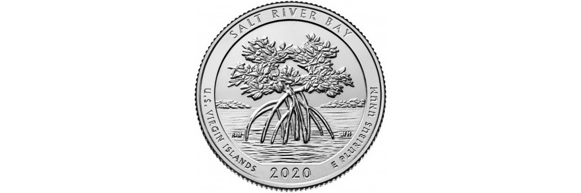 2020 US Beautiful Quarter Salt River Bay National Historical