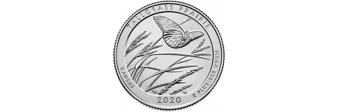 2020 US Beautiful Quarter Tallgrass Prairie National Preserve