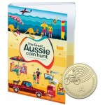 2019 $1 The Great Aussie Coin Hunt A-Z Set of 26 In a Cylinder and Folder